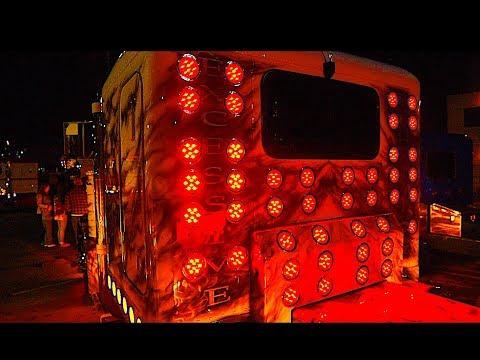 Дальнобой. США Custom Kenworth w900 Mid America truck show. Выставка Американских фур