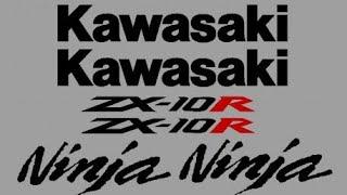 Comment faire un stickers moto Zx10r