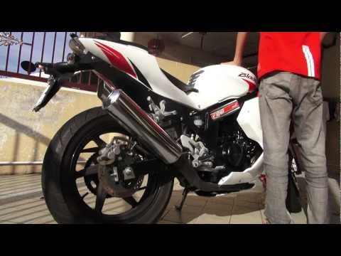 Hyosung GT250R / Naza Blade 250R Stock Exhaust Sound
