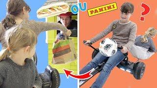 Mc Panini Drive Surprise •  Kids Pretend Play - McDonalds Drive Thru Prank Power Wheels Ride On Car