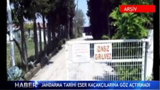 Jandarma tarihi eser ka�ak��lar�na g�z a�t�rmad� ! (V�DEO)
