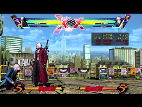 UMvC3 - Tricks & Tech 18 - Ve Cancel and Guardstun Loop