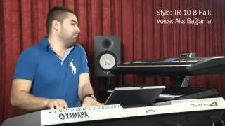 Demo movie #2 of Balkan Turkey Pack for Yamaha Tyros4   YouTube