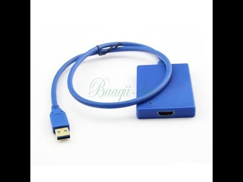 Adaptador USB a HDMI