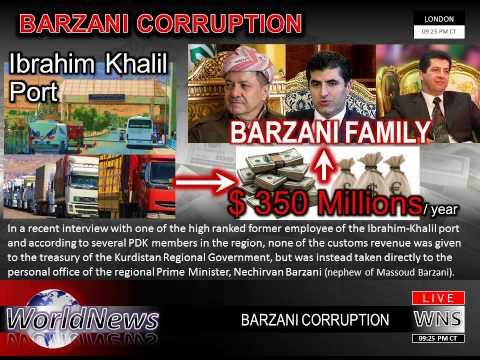 Barzani Corruption Ibrahim Khalil 1