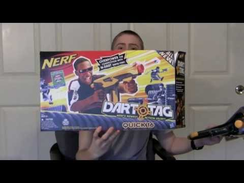 [REVIEW] Nerf Dart Tag Quick 16 - Review & Firing Test
