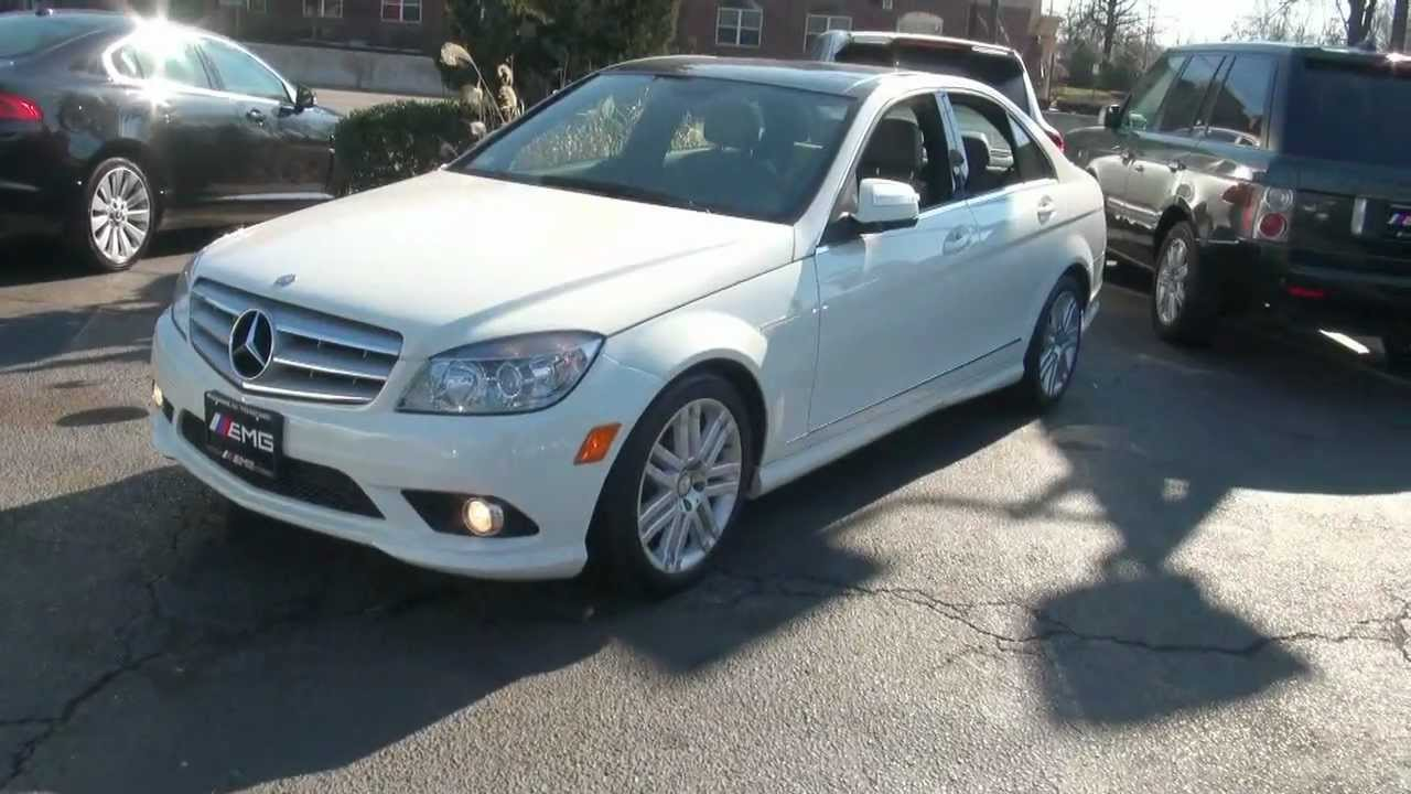 2008 mercedes benz c class c300 sport 4matic youtube. Black Bedroom Furniture Sets. Home Design Ideas