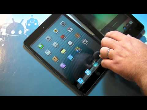 iPad mini versus the Google Nexus 7