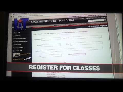 Lamar Institute of Technology. ..Study!