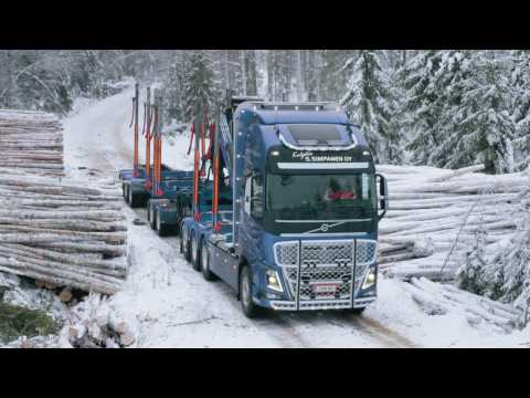 Volvo Trucks - Hauling timber through Finland's frozen forests - Meet our customer: Simpanen Oy