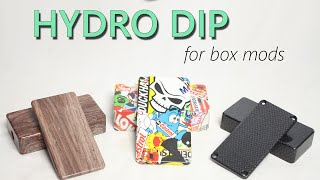 MOD TIPS #05 - How to Hydro Dip for Box Mods