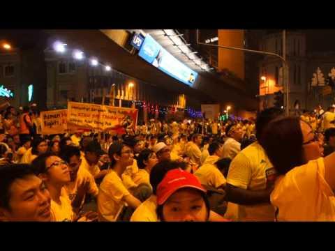 Bersih 4.0 Sings Beyond's The Glorious Years (光辉岁月)