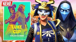$100,000 Luxe Cup Finals! (Fortnite Battle Royale)