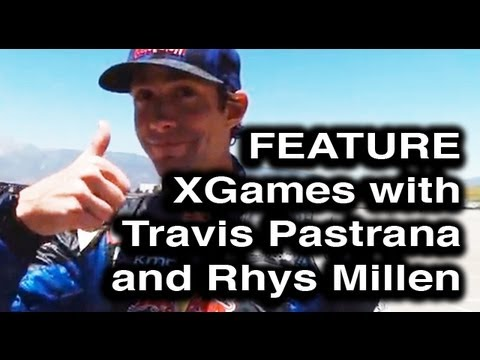 Behind the Smoke 2 - Ep 10 Travis Pastrana, Rhys Millen before X Games