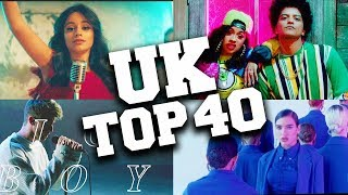 UK Top 40 Songs 2018 - March