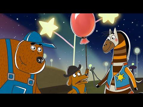 Детские песенки от Летающих зверей - Собака-барабака (из серии Парк Хосе (Мексика))