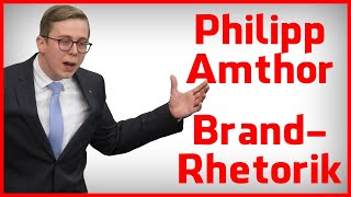 Philipp Amthor Rede - Die Brand-Rhetorik in der Analyse