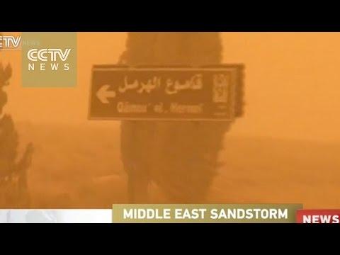 Massive sandstorm kills two in Lebanon