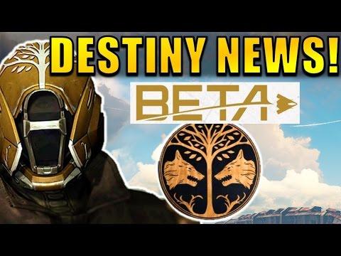 DESTINY 2 BETA! MAY IRON BANNER! New Destiny Update? | Destiny News