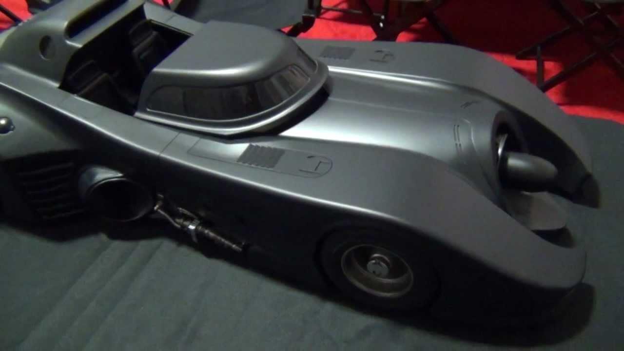 Batmobile Toy Model Hot Toys Tim Burton Batmobile