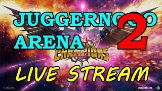 Juggernaut Arena - Round 2 - Part 2 | Marvel Contest of Champions Live Stream