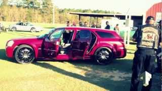Loudest Dodge Magnum In Southwest GA On 24s 2012 - Albany GA [MrTOFinc] HD