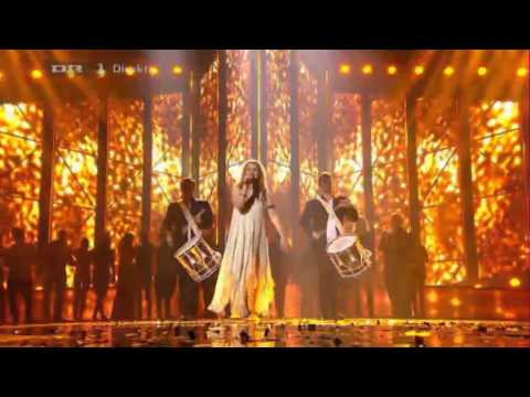 Emmelie - Only Teardrops - EUROVISION - MGP DANMARK VINDER 2013 [WINNER]