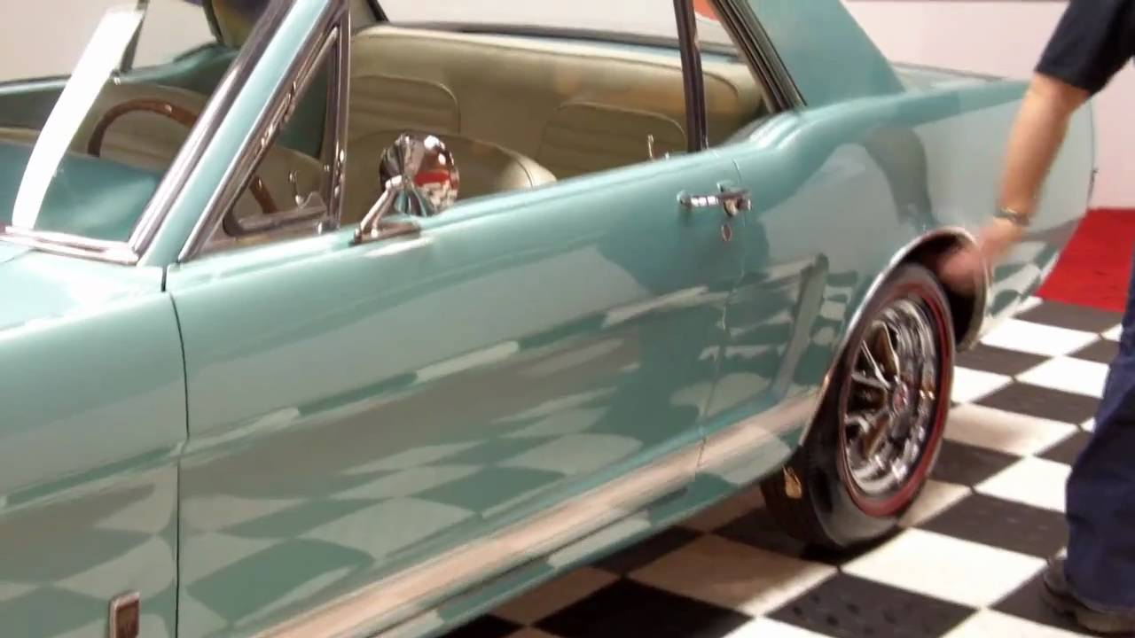 1965 Mustang Coupe >> 1965 Ford Mustang GT A Code Coupe Classic Muscle Car for Sale in MI Vanguard Motor Sales - YouTube