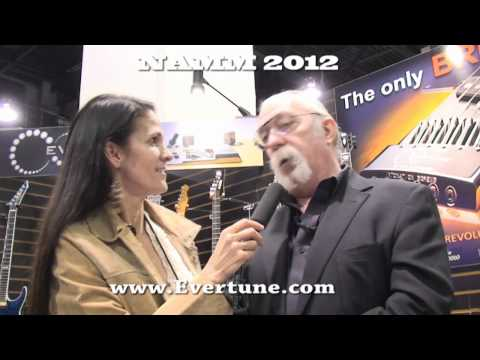 Jeff 'Skunk' Baxter Chats With Kelly Z at NAMM 2012