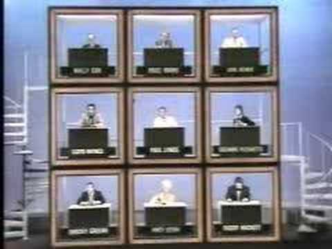 Hollywood Squares Peter Marshall's Oops Video