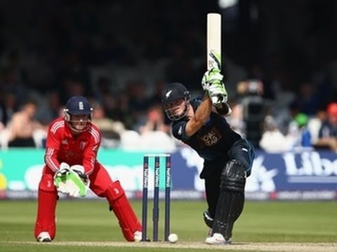 Highlights New Zealand innings v England NatWest Series 1st ODI at Lord's