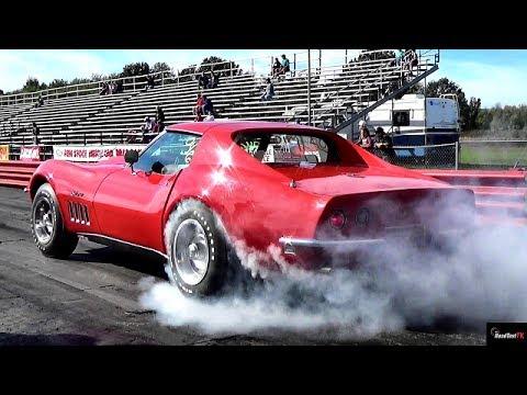 $1 Million Burnout ? Ultra Rare 427 L88 Corvette 1/4 Mile Drag Race Video – Road Test TV