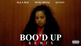 Ella Mai Boo 39 D Up Remix Ft Nicki Minaj Quavo
