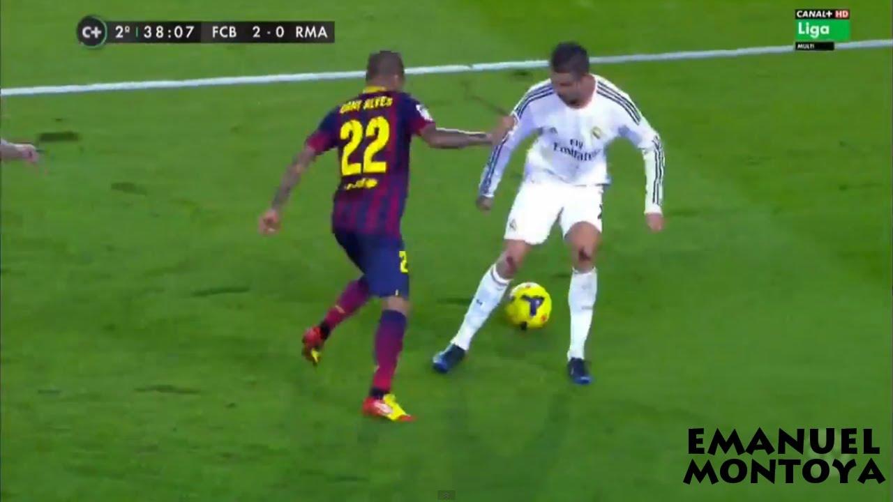 Daniel Alves Humilla a Cristiano Ronaldo 2014