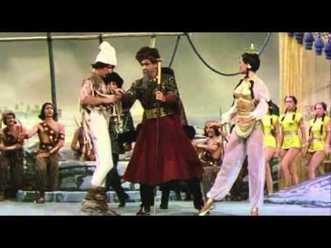 Danny Kaye -- Knock on Wood -- Ballet Scene