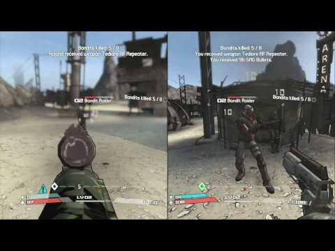 Borderlands Co Op Split Screen Gameplay   How To Make & Do ...