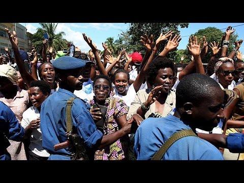 Burundi : mobilisation de femmes contre un 3ème mandat du président