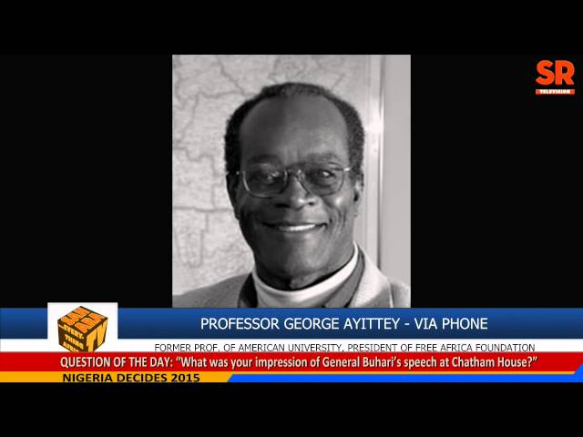 George Ayittey, Economist, On Nigeria Elections And Africa