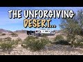 RV Boondocking in the Dangerous Desert 🌵🏜🚐😱
