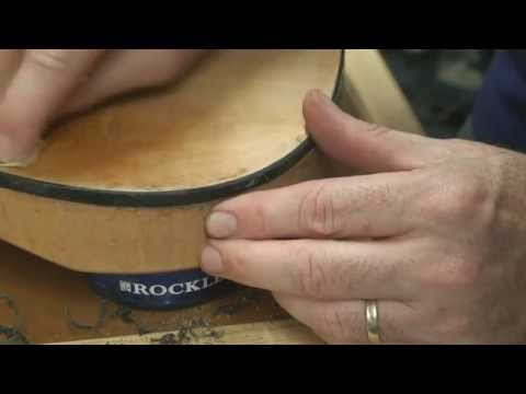 Part 5 - How to Install Binding on an Electric Guitar body