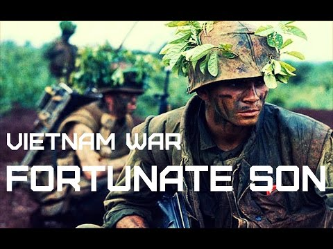 Vietnam War • Creedence Clearwater Revival - Fortunate Son