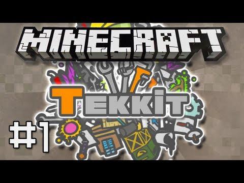Minecraft : TEKKIT #1 - 'Getting Involved..'