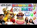 Lets Play MARIO PARTY 10! Bowser Party in Mushroom Park!  (FG...
