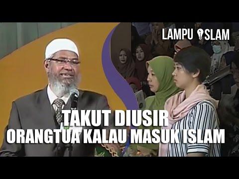 MENANGIS Karena TAKUT DIUSIR Orangtua Jika MASUK ISLAM | Dr. Zakir Naik UMY Yogya 2017