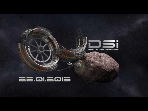 Deep Space Industries Live Announcement