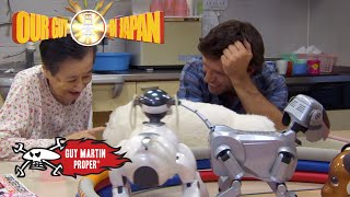The Japanese retirement home using robots | Guy Martin Proper