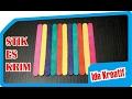 3 Ide Kreatif dari Stik Es Krim - Tutorial - IniCaraku