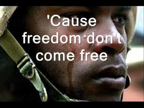 Toby Keith - American Soldier (Lyrics) HQ (A Video To Our Soldiers)