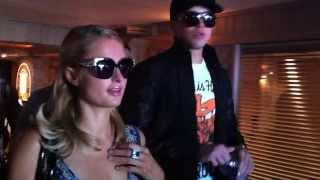 Paris Hilton at Coke Beach with Inertia Tours Spring Break