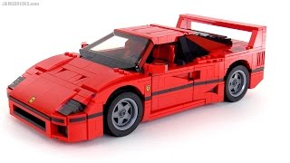LEGO Creator Ferrari F40 review! set 10248